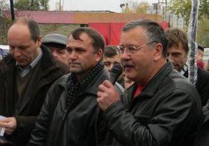 Гриценко предложил Объединенной оппозиции  обнулить  свои списки в знак протеста
