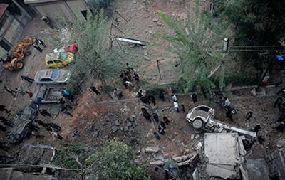 Взрыв - Дамаск - Сирия - посольство - РФ - Россия - В результате взрыва снаряда на территории посольства РФ в Дамаске погиб сириец, девять человек ранены