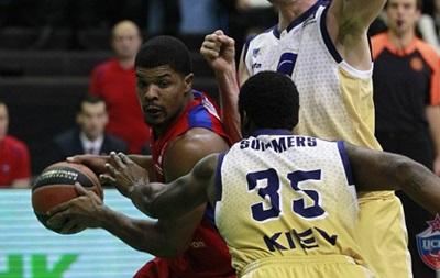Евролига: Будивельник уступил ЦСКА в последней четверти