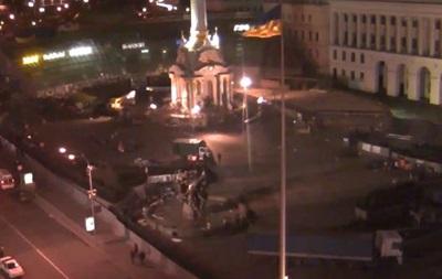 Майдана больше нет. Беркут очистил площадь от последних протестующих
