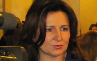 Богословская заявила о своем выходе из Партии регионов