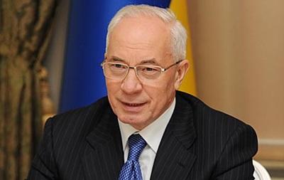 Азаров назвал акции протеста  нормальным явлением