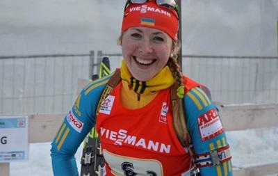 Биатлон: Украинка Джима впервые в карьере выиграла серебро Кубка мира