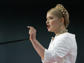 Тимошенко заявила, что Козырев достойный кандидат на должность губернатора
