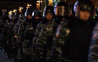 Милиция разблокировала правительственный квартал