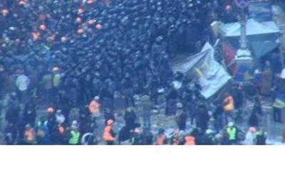 Возле здания Кабмина собираются подразделения МВД