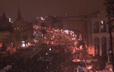 События Евромайдана ночью 11 декабря