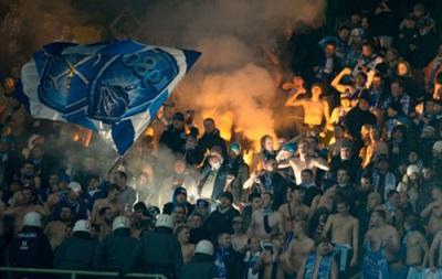 Фанаты Зенита напали на болельщиков Аустрии во время матча