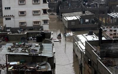 Более 40 тысяч человек эвакуировали из сектора Газа из-за наводнения