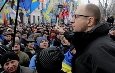Оппозиции осталось собрать три подписи для отставки правительства - Яценюк