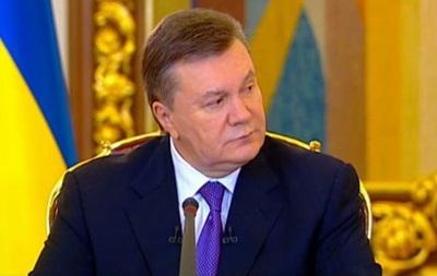 Янукович: Украина пока не присоединилась ни к одному документу ТС