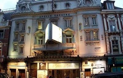 В лондонском театре Аполло обрушился потолок – пострадали десятки людей