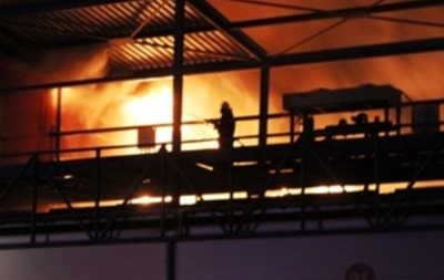 Число погибших в результате пожара на рынке в Киевской области возросло до двух человек