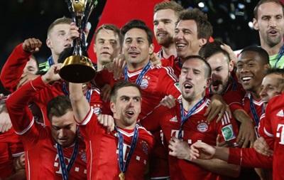 Фотогалерея: Как Бавария праздновала победу на клубном чемпионате мира