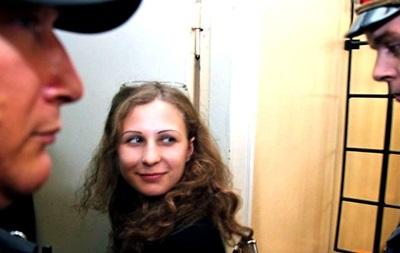 Участница Pussy Riot  Мария Алехина вышла из колонии. Видео