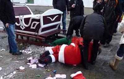 В Польше попал в аварию пьяный Санта-Клаус на санях