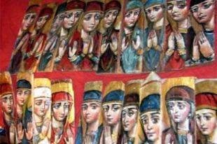 Во Львове открылась выставка 365 икон Богородицы