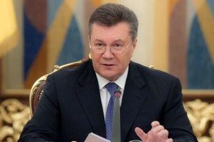 Янукович подписал закон о запрете захвата зданий