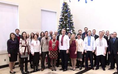 Посольство США поздравило украинцев с Новым годом