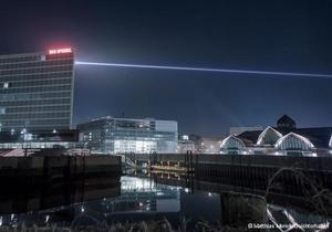 В Гамбурге построят мост из света