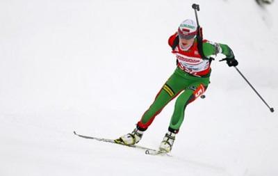 Белоруская биатлонистка блестяще выиграла гонку преследования в Оберхофе