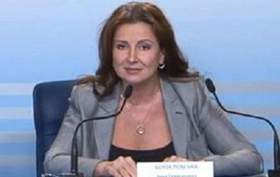 Инна Богословская будет поддерживать оппозиционного кандидата на президентских выборах