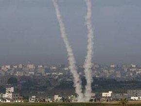 Палестинские боевики обстреляли территорию Израиля