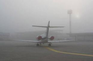 Одесский аэропорт изменил график работы из-за тумана