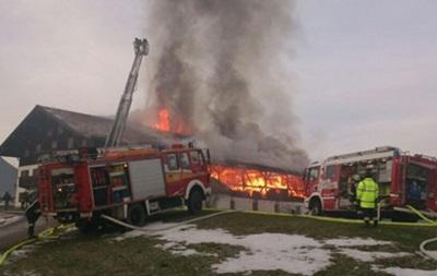 В Рупольдинге сгорел дом, где жили тренеры сборной Швеции по биатлону
