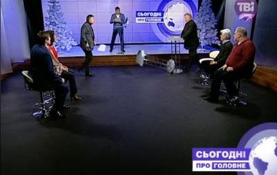 Аваков і Калашников мало не побилися в прямому ефірі