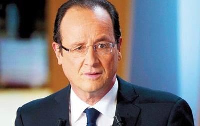 Олланд намерен судиться из-за статьи о связи с актрисой