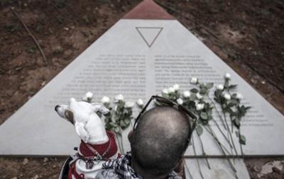 Памятник гомосексуалистам жертвам холокоста в тель авиве