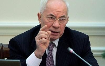 Азаров прогнозирует, что цена на газ для Украины в 2014 году будет стабильной