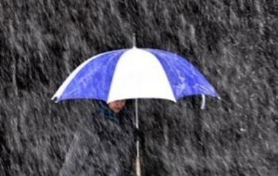 Завтра в Украине ожидаются дожди с мокрым снегом
