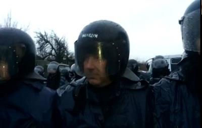 Автомайдановцы пытались прорваться к резиденции президента