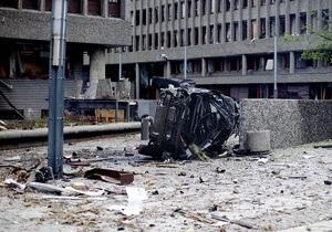 Количество жертв взрыва в Осло достигло семи человек