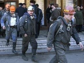 В Луганской области горела шахта
