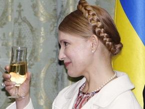 Тимошенко пообещала сделать все, чтобы год Желтого Быка принес тепло и счастье