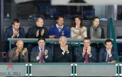 Андрей Шевченко сходил в Петербурге на хоккей