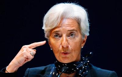 Глава МВФ предупреждает о растущей угрозе дефляции