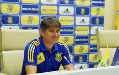 Главный тренер молодежной сборной Украины объявил состав на Кубок Содружества