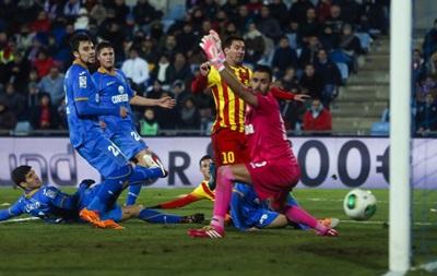 Месси вновь оформил дубль в ворота Хетафе в Кубке Испании