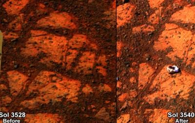 Марсианский  блуждающий камень  признан необъяснимым феноменом