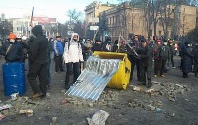 Около 20 человек активно участвуют в столкновениях с правоохранителями - СМИ