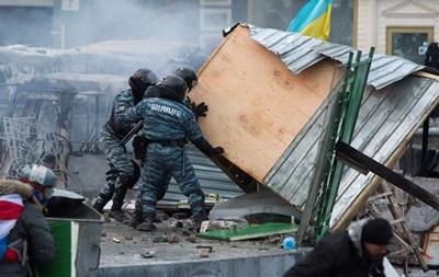 За массовые беспорядки в центре Киева милиция задержала более 30 человек