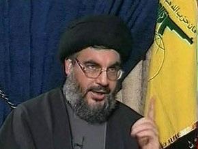Лидер движения Хезболла призвал палестинцев к новой интифаде