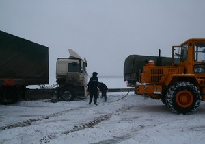 Непогода - дороги - трасса Киев-Чоп - Движение на трассе Киев-Чоп ограничено из-за слоя льда