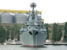 Крейсер Москва вновь покидает Севастополь (обновлено)