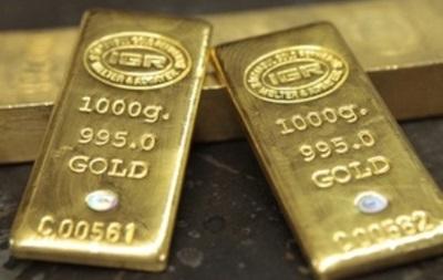 Цена золота на бирже COMEX снижается