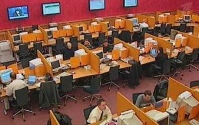 Российский рынок начал торги падением индексов